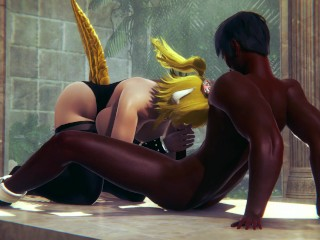 Bowsette Requested The BBC - Honey Select 2