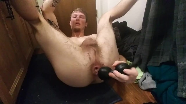 Gaping my pussy and cumming all over it