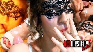 Cumshots with Polish amateur Isabel. RedMystery Isabel compilation part 1