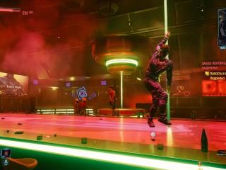 Game modest striptease suits cyberpunk 77...