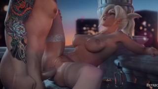 little 3d porn compil