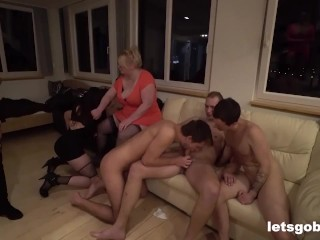 Biggest Bisexual Orgy Goes South