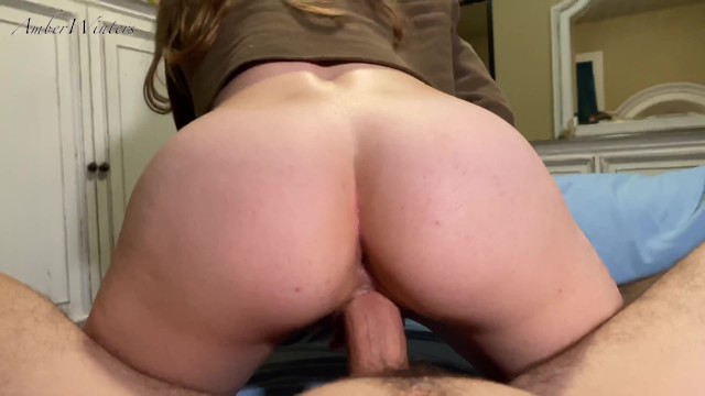 CUM INSIDE ME! -Real Homemade POV Creampie with Amateur Babe AmberWinters 11