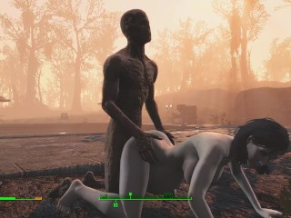 Ghoul got pregnant half zombie gently fuck a...