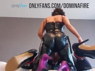 Queen slave hard...