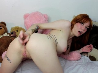 Leda Bear Trains Her Virgin Asshole