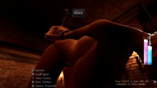 Slaves of Rome [SFM 3D game] Ep.1 Fucking a huge breast girl in the public street