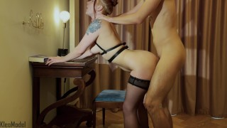Obedient wife loves nudity and passionate sex. KleoModel