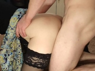 my wife cheats on me with a huge dick and I entered into the broken hole after a huge dick