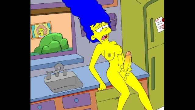 Cartoon sex simpsons