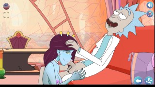 Rick's Lewd Universe - Part 1 - Rick and Morty - Unity Suck Off Rick By LoveSkySanX