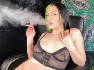 Very sexy & sensual smoking following the multiple orgasms I just experienced