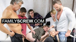 Mature Group Orgy