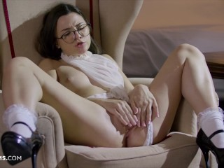 ULTRAFILMS PROMO Haily Sanders got super horny and wet by tasting her own pussy and deep fingering.