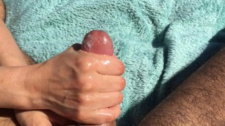 Hand job cum shot compilation