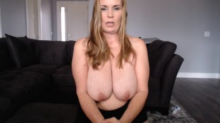 POV Do you need Mommys help with your HUGE cock?