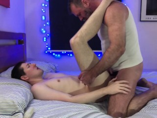 Daddy comes home to make love to his...