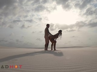 AMATEUR FUCKING ACROSS A SAND DESERT IN BRAZIL - DREAD HOT