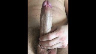 guy jerking off hairy cock -ARTEM SUCHKOV