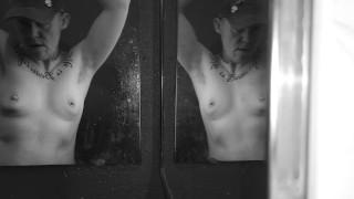 Trans Man Mirror Striptease, Nipple Play, Homemade, Texas Bad Boy