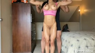 Miss Marcie - Heaven 1 (Muscle Worship) (Full clip on DreamscUmtrue C4S, MV, IWC)