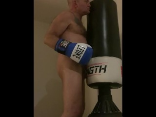 Bare bears boxing bag...