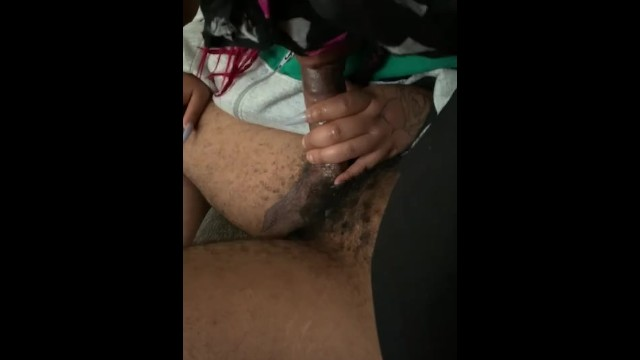 VA Thot Give Up Top For Some New Nails 8
