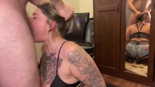 Hot Wife Savanna Sweet gets her Throat Fucked