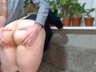 Juicy in pantyhose...