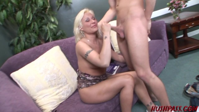 Moms like Cindy love to Suck Cock and get Fucked by Nerds 6