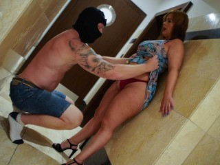 Mature wife takes a wrong turn ends up...