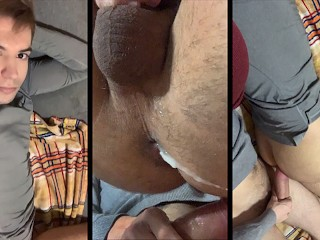 Young guy asks daddy to fuck him and...