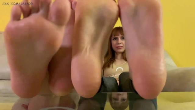 Mistresses Kiraes and Sofies POV Feet and Toes Worship 20