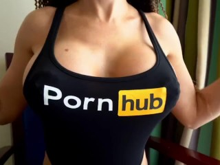 Clothes from pornhub im happy this my boobs...