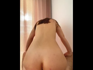 My horny stepsister cant resist my dick begs...