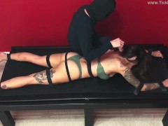 Scarlett Face Down on the Tickle Table - (preview)