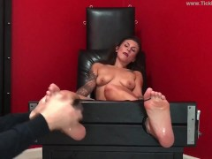 Scarlett Topless in the Tickle Chair - (preview)