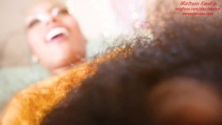 Ebony Giantess ObeyKaedra Jerks You Off and Then Cums With You Before Swallowing You TEASER