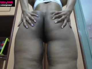 Indian masturbating giving jerk off instructions to her...