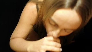 Blonde Pleasure-Queen gets a surprise cum in mouth from her friend (vol. 3)