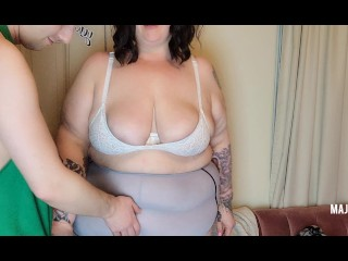 I worship and fuck gfs oiled up belly...