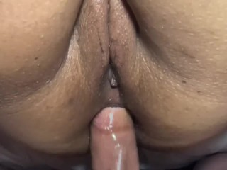 Interracial creampie hot milf takes cock and her...