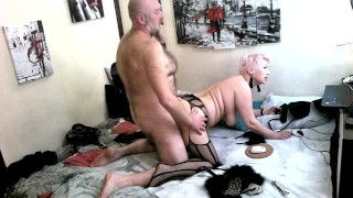 My mature kitty bitch AimeeParadise swears allegiance to my dick! Close up of spousal doggystyle...