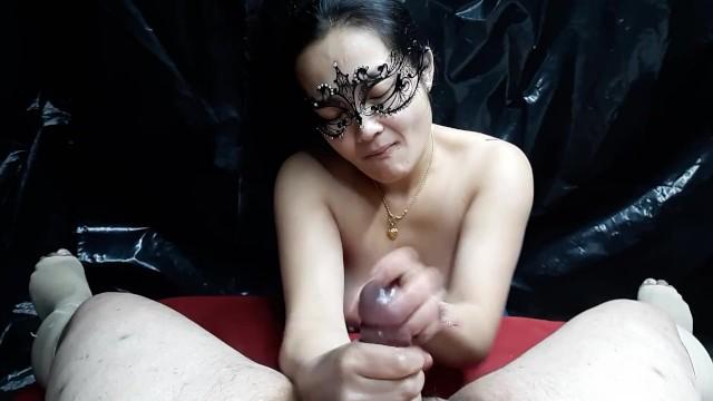 Asian Milf Giving Best Handjob! 9