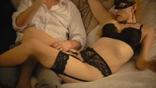 """Oh, My Stars and Garters!"" (Full Movie) - Lingerie Photoshoot Edging Pussy Play -SxySorcererSupreme"