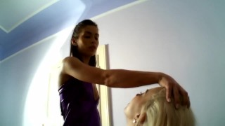 sub lexi pain get slap and spit by marcella
