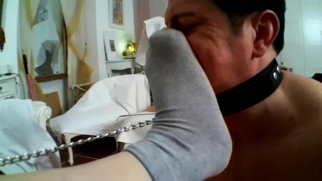 lady morgana want him inhale her stinky socks 20