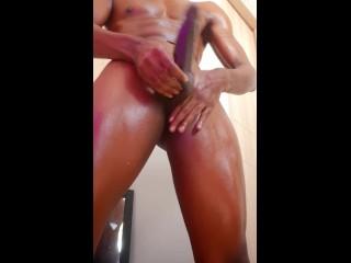 HOT monster bulge – HUGE cock and balls! / play with my balls, ball massage/huge bulge massaged/