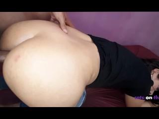 Amateur brazilian girl likes anal...