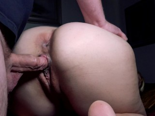 4k bend her over and cum inside...